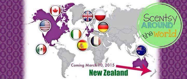 Join Our Scentsy Team Around the World!