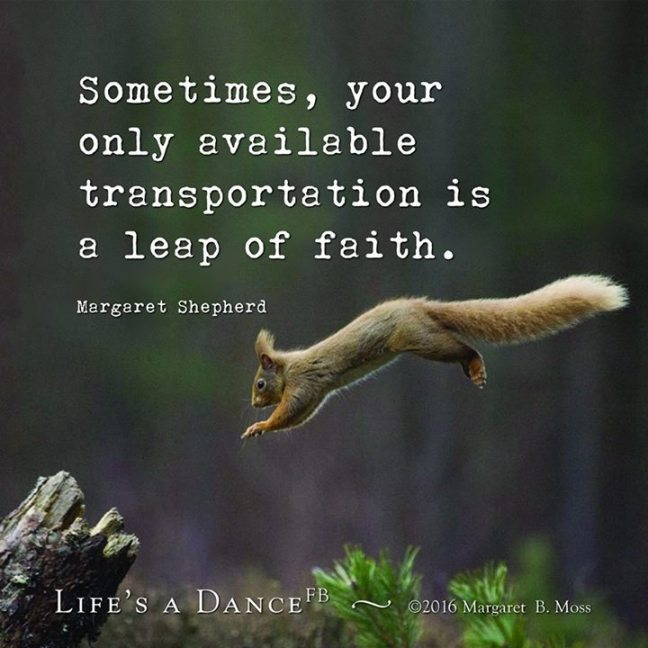 Take the leap!