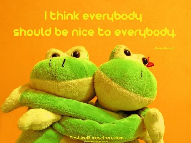 Be Nice!