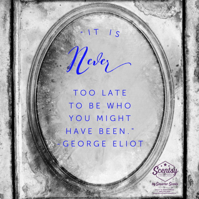 It Is Never Too Late!